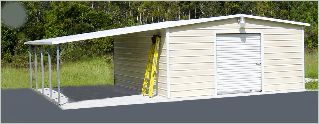 Home page for Garage and carport combination
